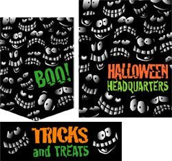 Halloween Sale Retail Store Sign Sale Event Kit