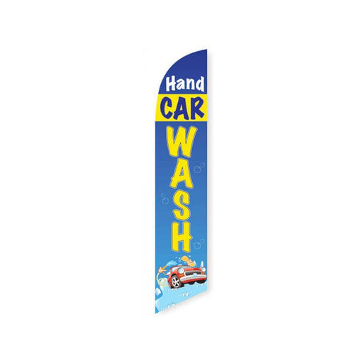 Hand Car Wash Feather Flag