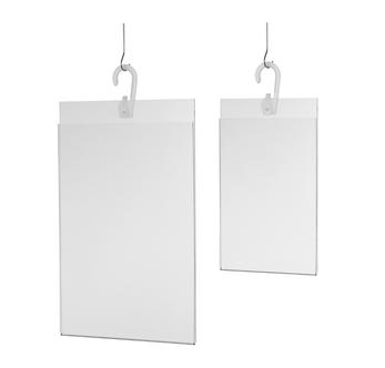 Hanging Acrylic Sign Holders