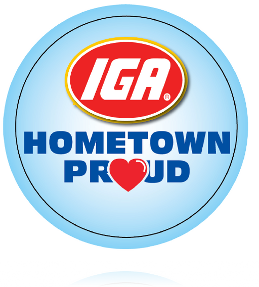 IGA Grocery Stores Hometown Proud Employee Buttons