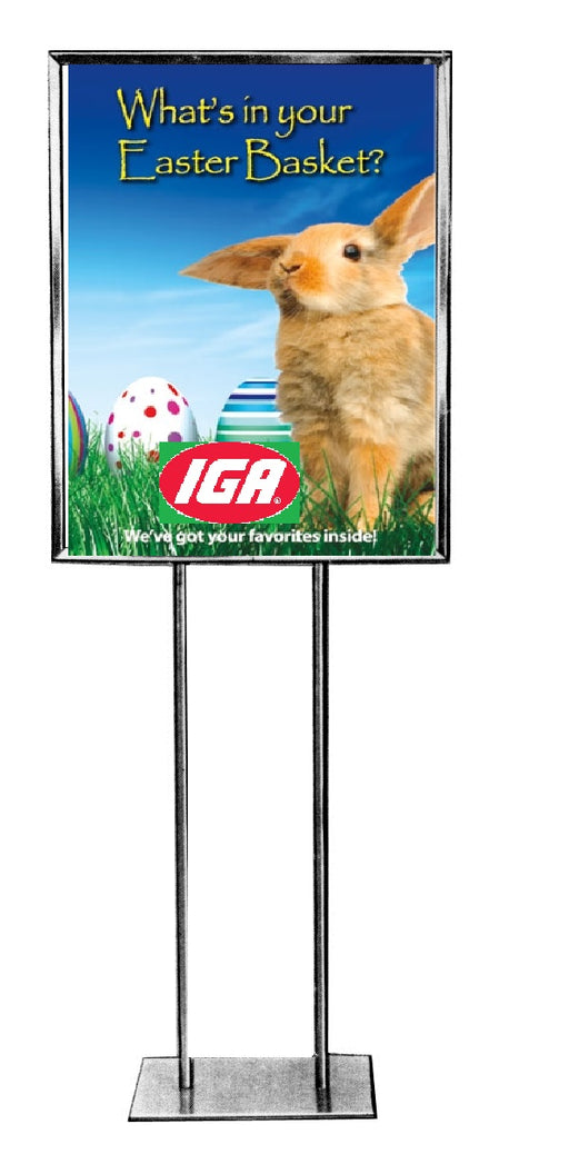 IGA Easter Savings Floor Stand-Stanchion Sign