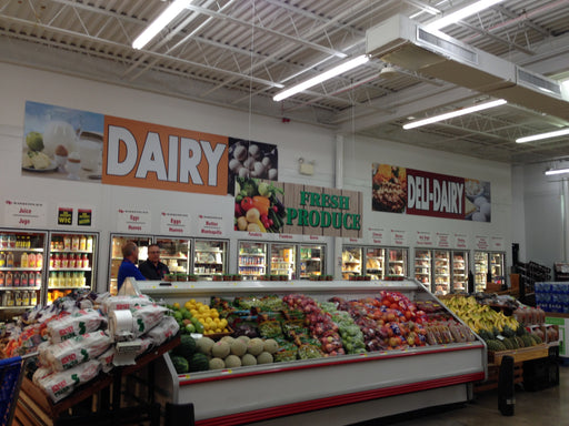 Economical Dairy Department Wall Signs & Wall Graphics