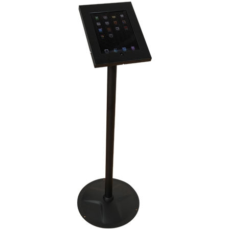 iPad Stand-Freestanding Kiosk- Black