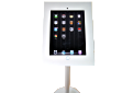 iPad Stand-Freestanding Kiosk- White