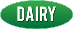 Retail Store Interior Signage-Dairy Sign- Green