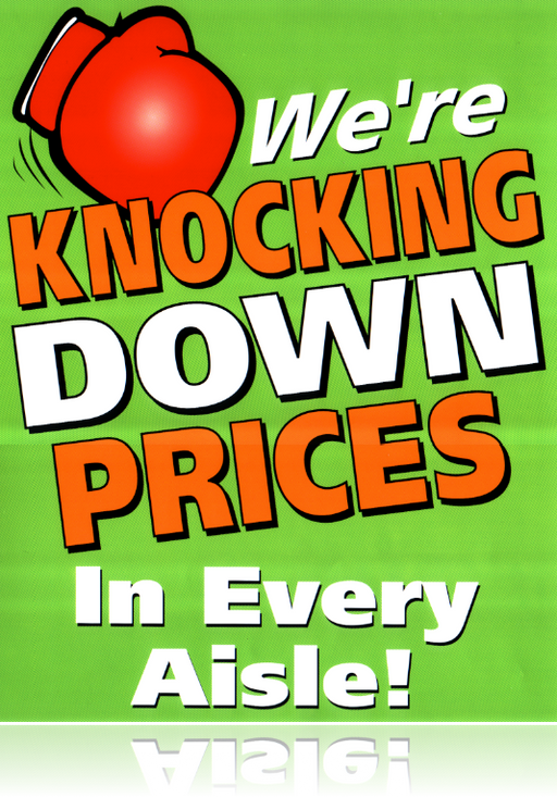 Knock Down Prices Employee Button
