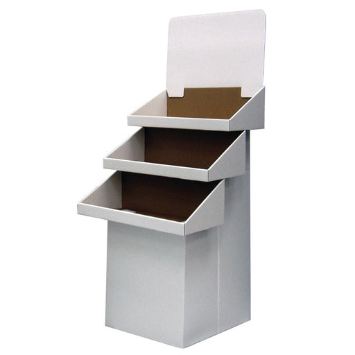 Large Cardboard Tray Display Dump Bin