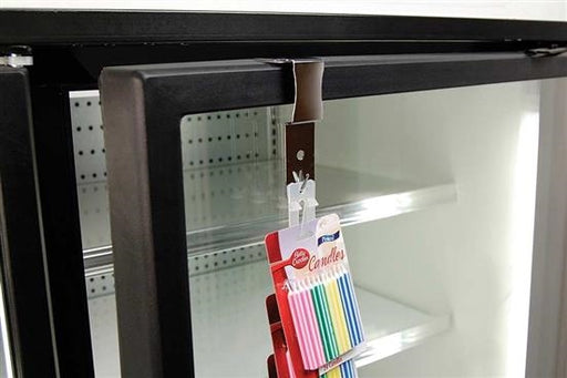 Merchandising Strips Clip Hanger for Cooler Doors-5 pieces