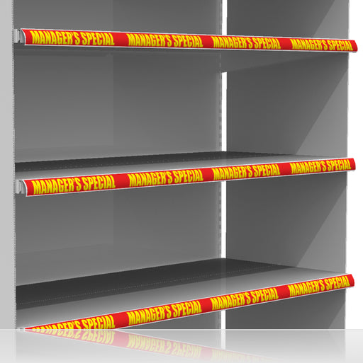 "Manager's Special Channel Shelf Molding Strips 24""W x 1.25""H -10 pieces"