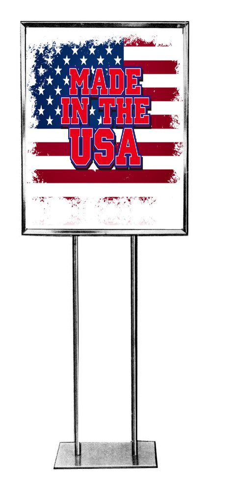 Made in the USA Standard Poster-Floor Stand Signs-22x28