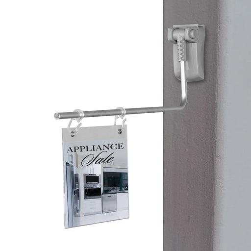 Magnetic Sign Holders with Hooks- Aisle Marker Aisle Violators