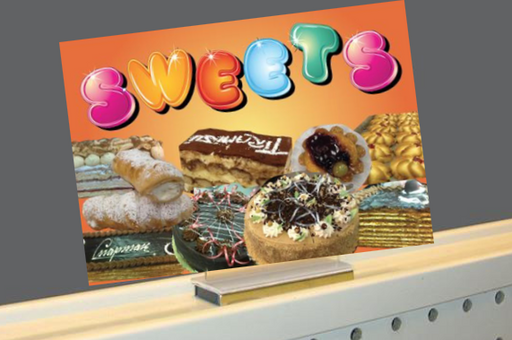 Magnetic Sign Holders for Bakery 5 pieces