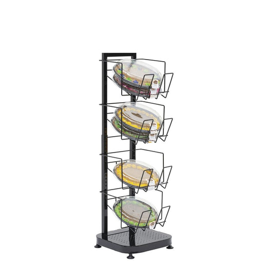 Bakery Floor Display Rack With 4 Shelves