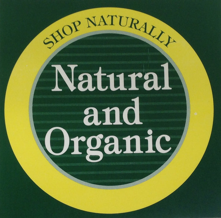 Natural and Organic Shelf Signs- 25 pieces