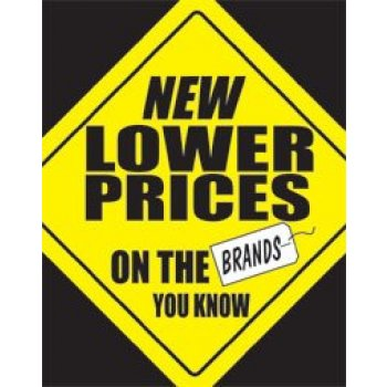 New Lower Prices Standard Poster-Floor Stand Signs-4 pieces
