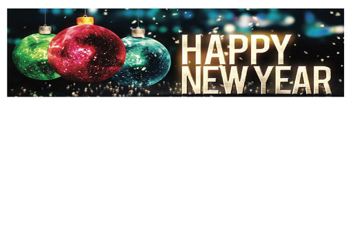 "New Year's Shelf Signs-Price Cards-11"" W x 7"" H -50 signs"