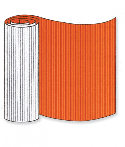 Orange Corrugated Base Pallet Wrap