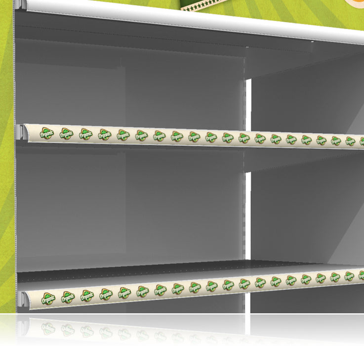 Organic Price Channel Molding Shelf Strips