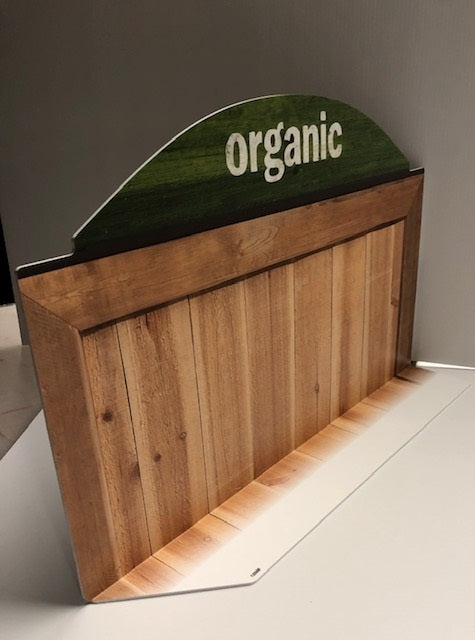 Organic Case-Shelf Dividers