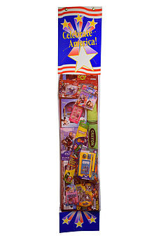 Patriotic Toy Filled Stocking Sweepstakes-Contest Giveaway- Promotional Item - screengemsinc