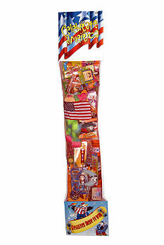 Giant Patriotic Toy Filled Stocking Sweepstakes-Contest Giveaway- Promotional Item - screengemsinc