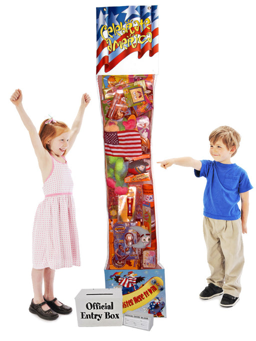 Giant Patriotic Toy Filled Stocking Sweepstakes-Contest Giveaway- Promotional Item