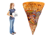 Pizza filled with toys-5' tall-Promotional Sweepstakes Item - screengemsinc