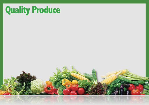 Produce Shelf Signs-Price Cards- 1000 pieces