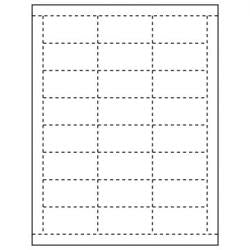 Price Tags Perforated Paper Sheets-24 tags per sheet-6000 pieces