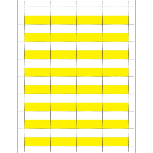 Price Tags-White & Yellow-32 tags per sheet