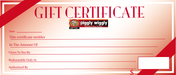 Piggly Wiggly Custom Printed Gift Certificates