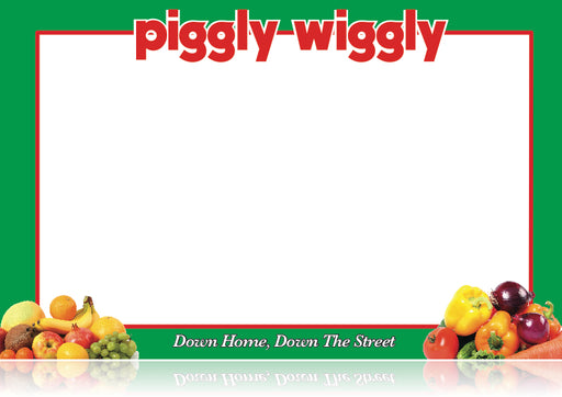 Piggly Wiggly Supermarkets Produce Department Signs