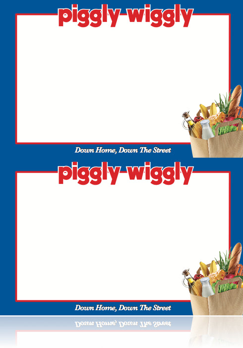 Piggly Wiggly Price Cards Shelf Signs Price Signs