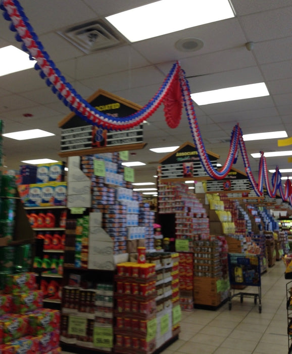 Patriotic Decorative Ceiling Garland