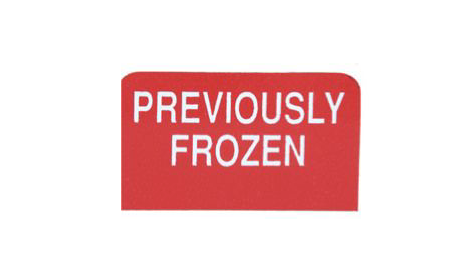 Previously Frozen Sign Toppers-20 pieces