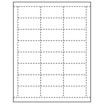 Price Tags Paper Sheets-24 tags per sheet-4800 Price Tags