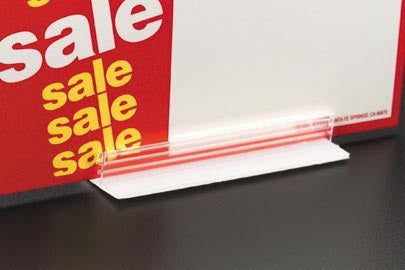 Sign Holders with Permanent Adhesive-Counter-Top-10 pieces
