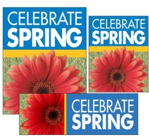 Spring Sale Sign Kit- 32 pieces