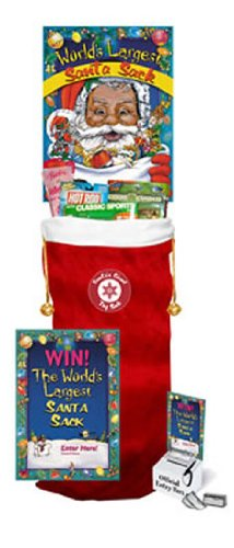 Christmas Toy Filled Santa Stocking Giant Sweepstakes-Promotional Item