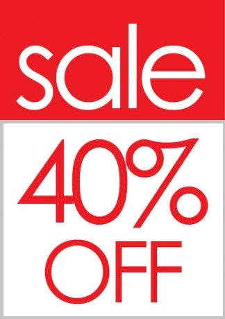 Sale 40% Off Sale Tags-100 price tags