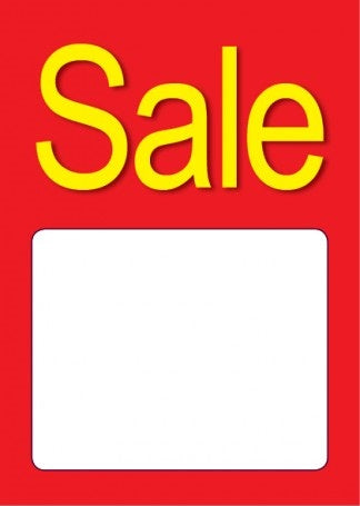 Sale Tags Price Tags-Price Area-100 signs