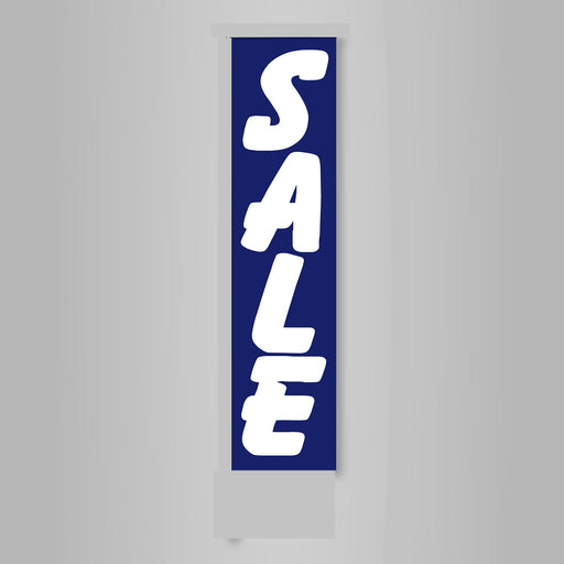 Sale Banner Flag-Blue