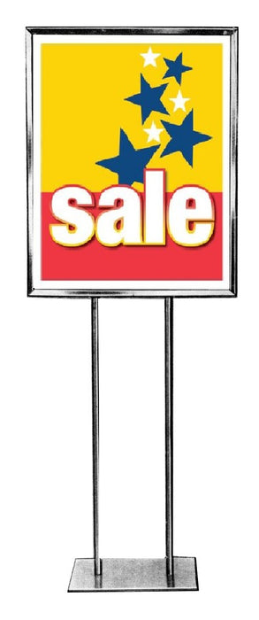 Sale Stars Posters-Floor Stand Stanchion Signs-4 pieces