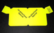 Unadvertised Aisle Violators Shelf Signs-Fluorescent Yellow- 100 signs