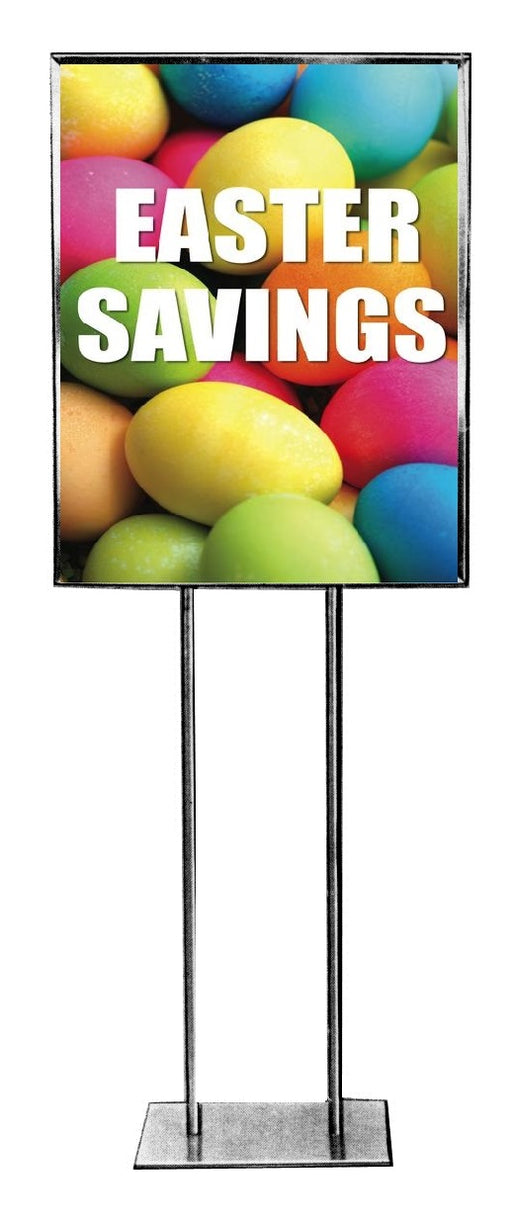 Easter Savings Floor Stand Stanchion Sign