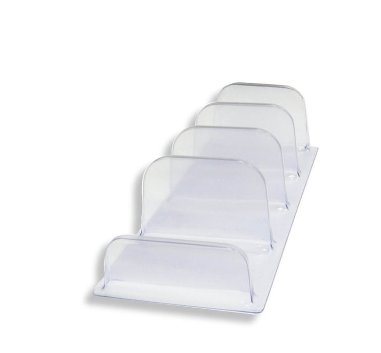 Shelf Organizers-Clear- 10 pieces
