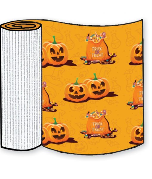 Trick or Treat Corrugated Base Pallet Wrap