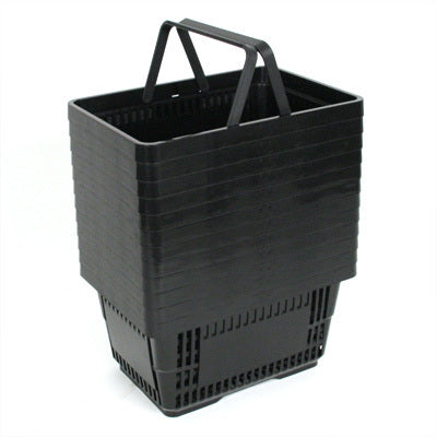 Shopping Baskets- Black-set of 12