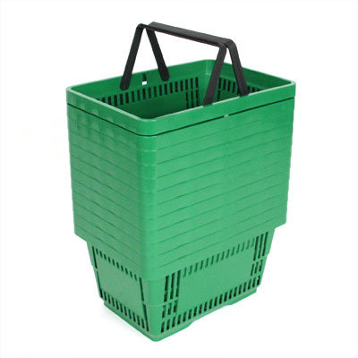 Shopping Baskets-Green- set of 12