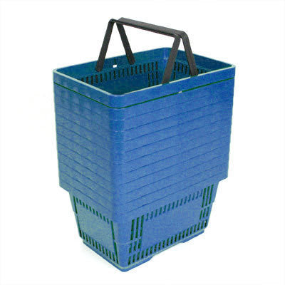 Shopping Baskets Large-Blue-set of 12